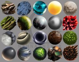 Material Study by Kevin-Glint