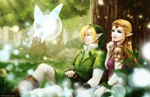 Ocarina of Time by zeldacw