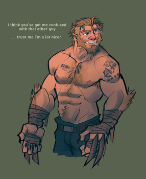 another sabretooth by hurricane128