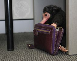 Brian - Handmade Juvenile Niffler Poseable Artdoll by SonsationalCreations