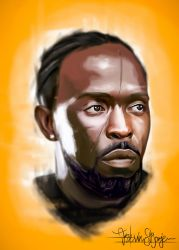 Omar Little - The Wire by KevinMonje