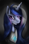 princess  moonlight headshot by 11newells