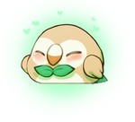 Rowlet by DevilsRealm