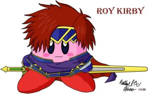 Kirby - Roy by BlazingGanondorf