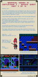 Graphical Design in Castlevania 2 - Part 4 of 10 by Cyangmou