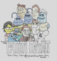 Patton Oswalt Tribute by CelmationPrince