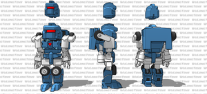MiniBot Explorer turnaround (MTMTE Pipes) by wulongti