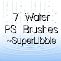 Water Brushes by superlibbie