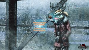 Rudolph the Heating Systems Engineer by MetaDragonArt