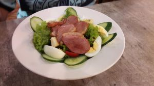 Smoke duck salad! ) by Deviljackies
