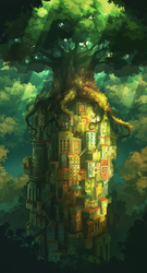 The Growing Tree by Frayde