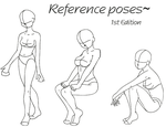Reference poses 1 by darkflower8923