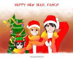 For Fancy-chan - Happy New Year by Kotik-Stells