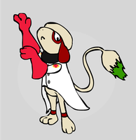 Smeargle as the Medic by sunnyfish