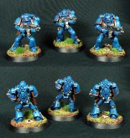 Ultramarines (Games Workshop/Speed paint) by Othikent