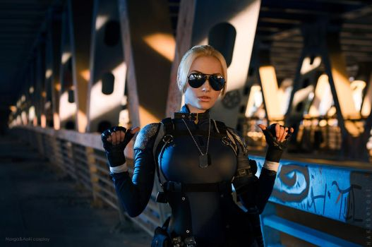 Cassie Cage - You challenge me? by Narga-Lifestream