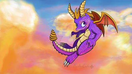 Spyro to the rescue by MaisArtCraft