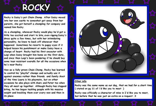 Profile: Rocky by Nintendrawer