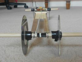 Mousetrap Car Front View by randomgirl1298