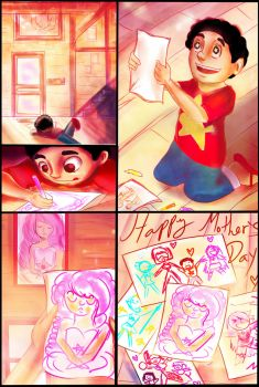 Happy Mothers Day Steven! by Checker-Bee