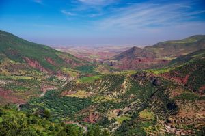 The Colours of Moroccan Landscape by d1kobraz
