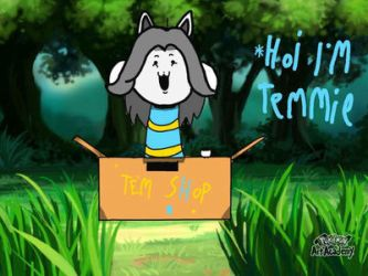 HOI! I'm Temmie! by Megalochacho