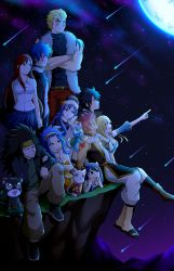 Fairy Tail: Shooting Stars by Smudgeandfrank