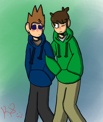 Edd and Tom by ScaryLaughter