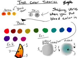 Troll Color Tutorial by Msvenomouscupcake