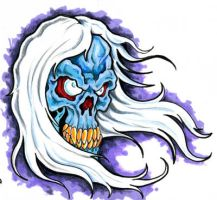 Blue Ghoul by scottkaiser