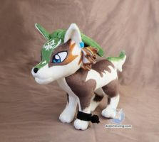 Wolf Link (Printed Edition) by dollphinwing