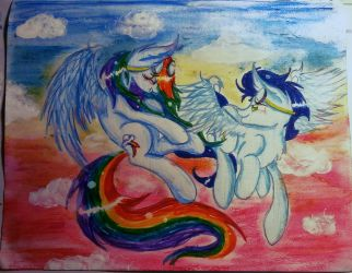 We finally soar together by SnowShine5