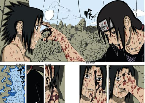 Sasuke Vs Itachi Final by camuswomanandcompany