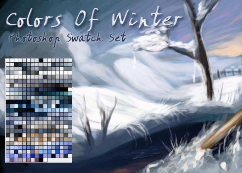 Colors Of Winter Swatches by El-Chupacabras