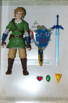 Link and his Accessories! by PlasticSparkPhotos