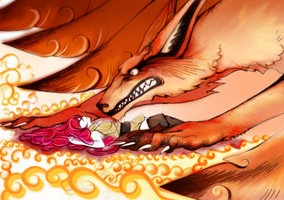 Nine_Tailed_Fox by AoraPL
