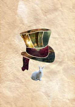 Alice in Wonderland - Collage 2 by shwabadi