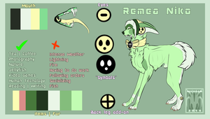 Remea Niko Reference Sheet by Necroam