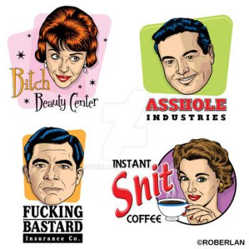 Stupid logos by roberlan