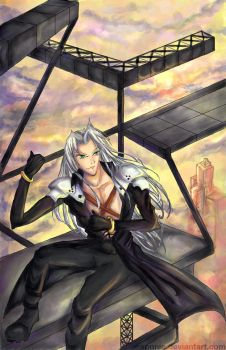 - Sephiroth - by xonnie