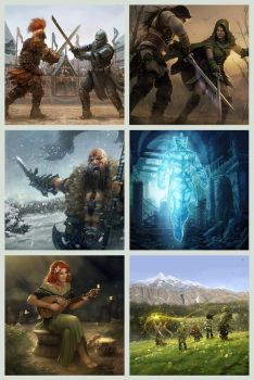 Legends of Norrath card set 01 by OmeN2501