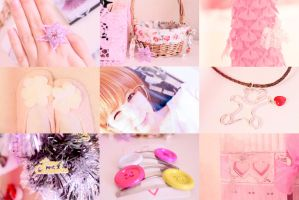 pink collage by Livy-Livy