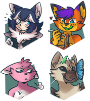 January 2018 Support Portraits by ClefdeSoll
