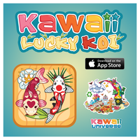 Kawaii Lucky Koi on App Store by KawaiiUniverseStudio
