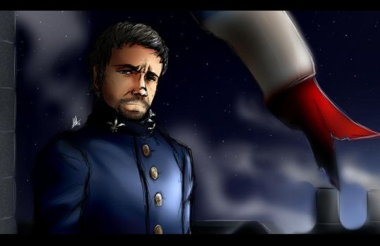 Les Miserables: Javert by the Stars by Smudgeandfrank