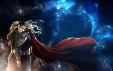 Thor - Forgive Me, Brother by Aaorin
