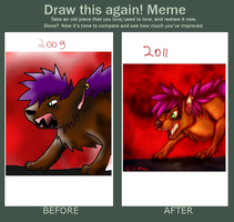 Meme: Before and After by Gamibrii