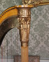 Relief on a harp by UdoChristmann