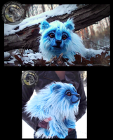 SOLD Hand Made Floppy LIFE SIZED Baby Tundra Bear! by Wood-Splitter-Lee