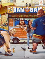 Action BAM BAM Bronson by ChrisBMurray